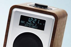 Digital radio screen