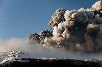 Flights have resumed after last weekend's volcanic eruption