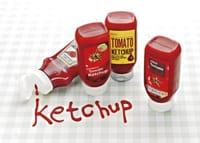Ketchup taste writing