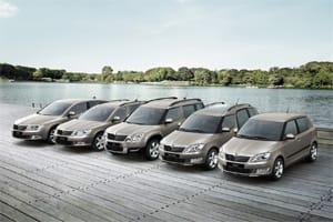 Skoda SE Plus range Fabia Octavia, Superb, Yeti and Roomster