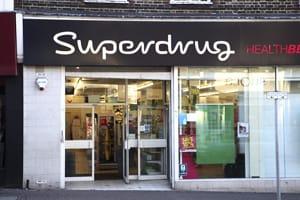 Superdrug shop front