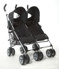 Tippitoes Reflect twin stroller