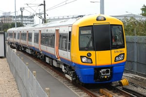 London overground train