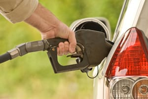 Fuel pump in car