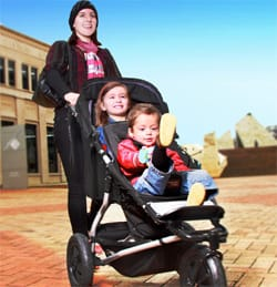 Mountain Buggy +One pushchair