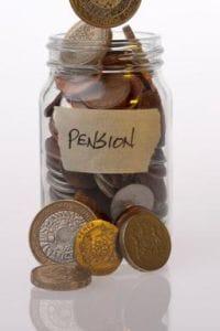 Company pension pot