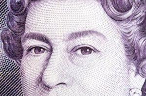 Queen banknote closeup 300x200