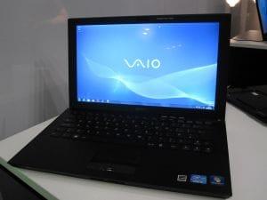 Sony's new ultra slim Z Series laptop