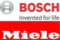 Bosch and Miele