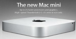 Apple updates MacBook Air and Mac mini