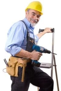 Workman carpenter builder