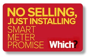 Smart meter promise logo in content