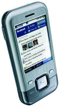 3 mobile INQ1 Facebook phone