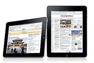 Apple iPad iBook reader