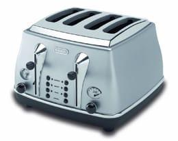 DeLonghi Icona silver toaster