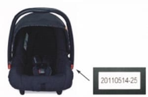 Mothercare Xcursion recall