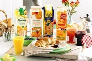 Orange juice lead