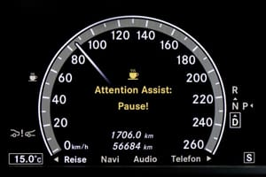 Attention Assist in Mercedes-Benz
