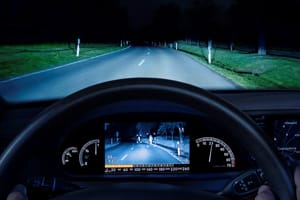 Night Vision in car