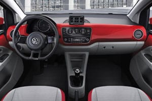 VW Up! interior