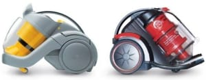 The Dyson DC02 and Vax Mach Zen