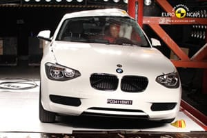 BMW 1 Series crash test