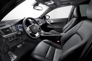 Lexus CT 200h F-Sport interior