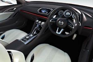 The Mazda Takeri concept interior