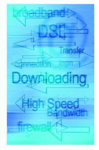 Broadband speeds slower at peak times