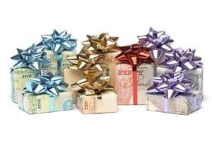 Christmas money