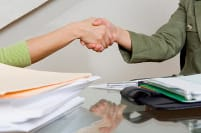 green deal handshake
