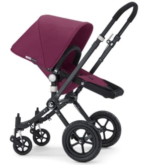Bugaboo Cameleon purple pushchair