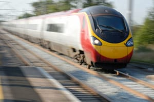 fast train UK