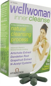 Vitabiotics wellwoman inner cleanse