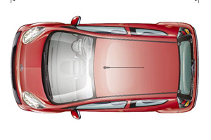 Citroen C1 from above
