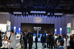 Sony CES 2012 Booth