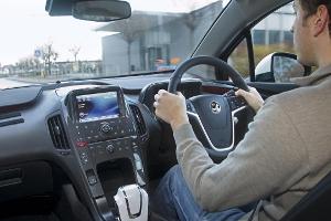 Vauxhall Ampera interior 2012
