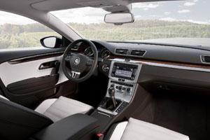 Volkswagen CC cabin 2012