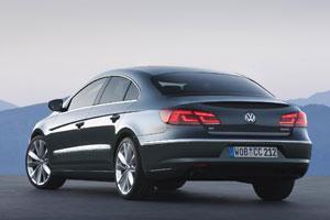 Volkswagen CC rear 2012