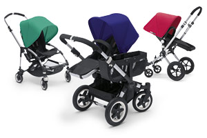 Bugaboo pushchair colours 2012