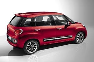 Fiat 500L rear 2012