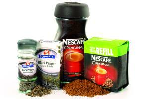 Refill packs - Nescafe Original, Schwartz Black Pepper