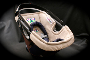 Look similar to many conventional infant carriers