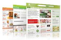 Online supermarkets
