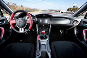 Toyota GT86 interior