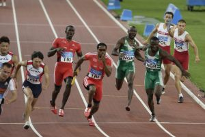 Olympic Games runners