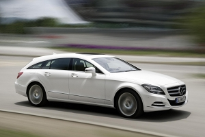 01 Merc CLS Shooting Brake