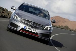 01 Mercedes Benz A Class