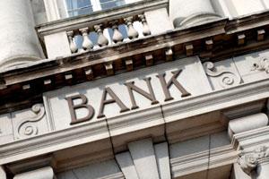 outside of bank