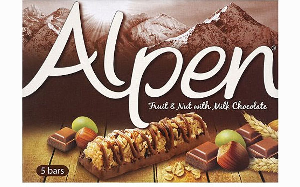 Alpen fruit and nut